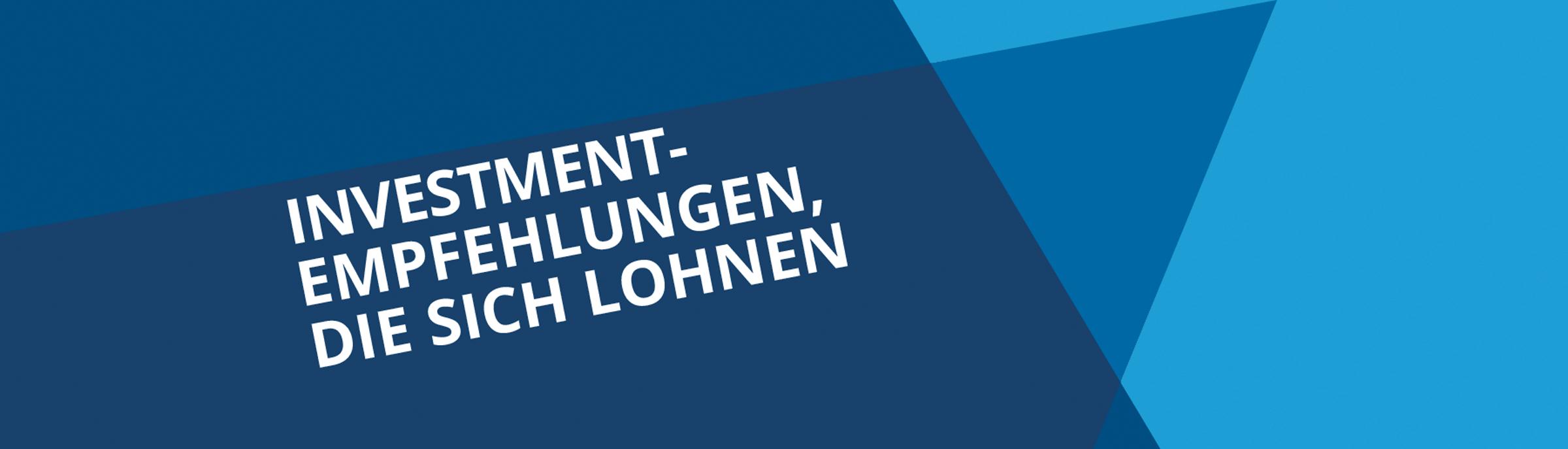 Webseiten Banner Investor Verlag