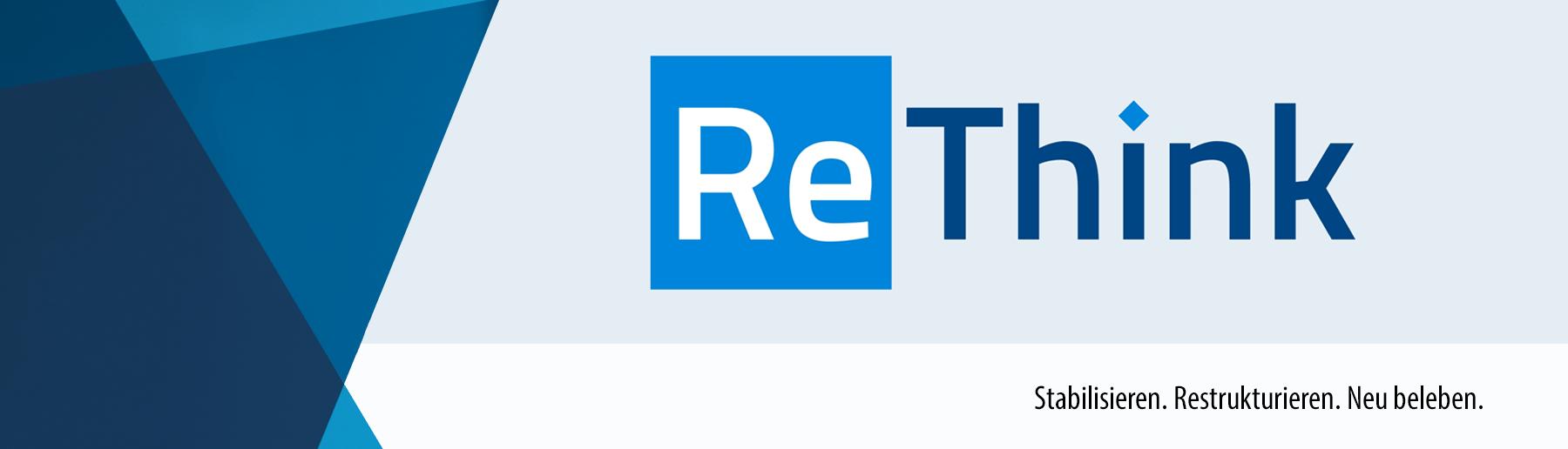 Webseiten Banner ReThink